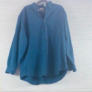 L.L. BEAN Blue Thick Cotton Men's XL-Tall